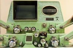 Máquina antiquado da edição de película Imagem de Stock Royalty Free