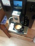 Máquina automática do café da grão Fotos de Stock
