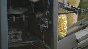 Máquina automática para empaquetar en la fábrica metrajes