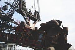 A máquina carbonosa enorme Foto de Stock