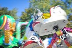 Máquina colorida del parque del pulpo foto de archivo