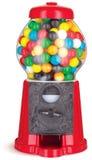 Máquina colorida do distribuidor da goma de mastigação do gumball sobre Imagem de Stock