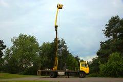 Máquina com uma torre Fotografia de Stock Royalty Free