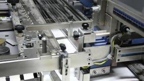 Máquina compensada de la impresión en casa de la impresión metrajes