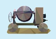 Máquina concreta Imagen de archivo libre de regalías