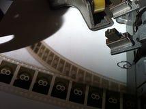 Máquina 2 da edição do filme do vintage Foto de Stock