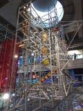 Máquina da energia no museu de ciência de Hong Kong imagens de stock royalty free