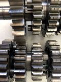 Máquina da engrenagem do metal Foto de Stock Royalty Free