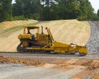 Máquina da estrada do esmagamento & do bloco Foto de Stock