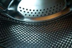 Máquina da lavagem dentro do detalhe Fotos de Stock Royalty Free