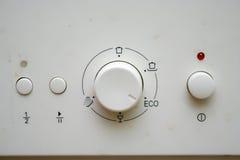 Máquina da máquina de lavar louça Fotografia de Stock