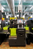 Máquina da verificação geral do auto Foto de Stock