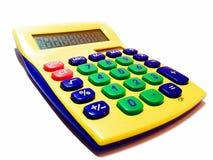 Máquina de adição - calculadora Fotografia de Stock Royalty Free