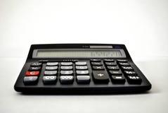 Máquina de adição - calculadora Fotografia de Stock
