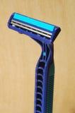 Máquina de afeitar de la mano foto de archivo libre de regalías
