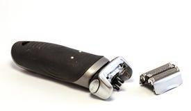 Máquina de afeitar eléctrica aislada Foto de archivo libre de regalías