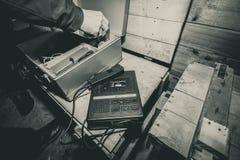 Máquina de batida Fotos de Stock