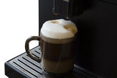 Máquina de café express del café del soplo Imagen de archivo libre de regalías