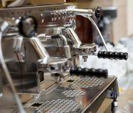 Máquina de café express italiana Fotografía de archivo libre de regalías