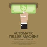 Máquina de caixa automático ilustração royalty free