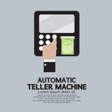 Máquina de caixa automático ilustração do vetor