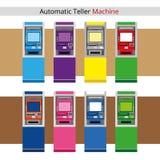 Máquina de caja automática Imagen de archivo libre de regalías
