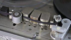 Máquina de cinta del vintage almacen de metraje de vídeo