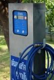 Máquina de comprobación automática del neumático, aire del terraplén para cansar la máquina Foto de archivo