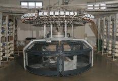 Máquina de confecção de malhas Imagens de Stock