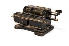 Máquina de contagem mecânica do vintage fotos de stock