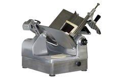 Máquina de cortar de la tienda de delicatessen Fotos de archivo libres de regalías