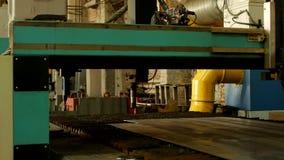 Máquina de corte automática do laser para o corte do metal do plasma, o corte do metal e o processamento, corte do metal filme