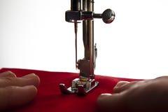 Máquina de coser Imagen de archivo libre de regalías