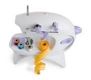 Máquina de coser. aislado imagen de archivo libre de regalías