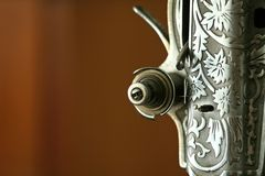 Máquina de coser de la vendimia Fotos de archivo