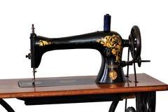 Máquina de coser de la vendimia Foto de archivo libre de regalías