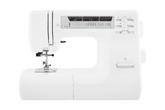 Máquina de coser moderna Imagen de archivo