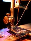 Máquina de coser roscada Imágenes de archivo libres de regalías