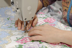 A máquina de costura Imagens de Stock