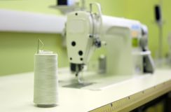 Máquina de costura Foto de Stock