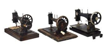 Máquina de costura do vintage foto de stock