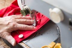 Máquina de costura do vintage Fotografia de Stock