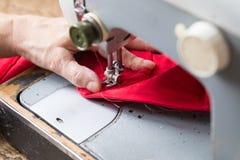 Máquina de costura do vintage Fotos de Stock