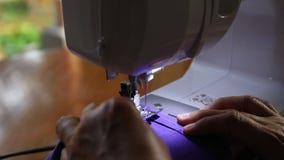 Máquina de costura filme