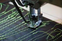 Máquina de costura profissional Fotos de Stock Royalty Free
