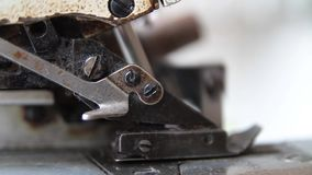 Máquina de costura velha filme