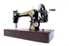 A máquina de costura velha fotografia de stock royalty free