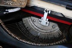 Máquina de dactilografia Foto de Stock Royalty Free