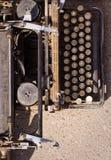 Máquina de dactilografia do vintage. Imagem de Stock