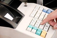 Máquina de dinheiro Fotografia de Stock
